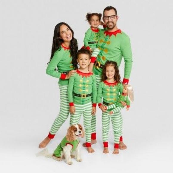 WONDERSHOP Toddler Boys/' Santa Hat Pajama Sleep Pants Green Size 18 Months